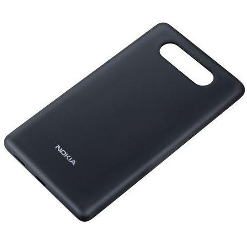Nokia Obudowa do ładowania bezprzewodowego  cc-3041 czarny matt lumia 820 | teraz w super cenie - black matt