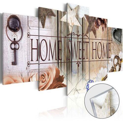 Obraz na szkle akrylowym - klucz do właściwych drzwi [glass] marki Artgeist