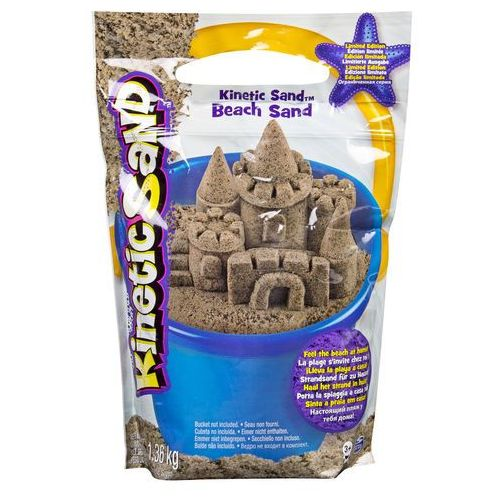 Spin master Kinetic sand - piasek plażowy 1,36 kg (0778988229026)