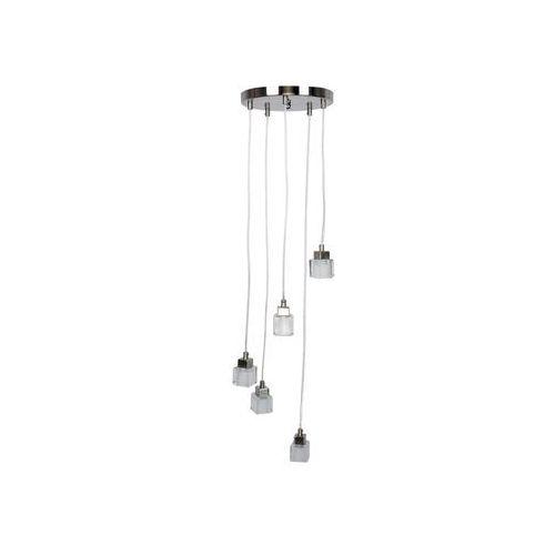 TOP LIGHT - Lampa wisząca VELENCE 5xG9/40W/230V szkło mleczne