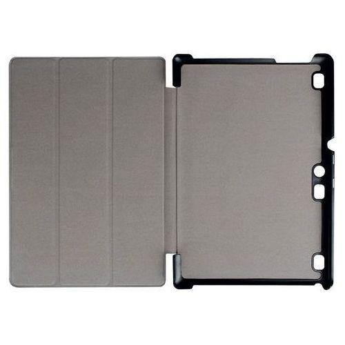Etui Smart Cover Lenovo Tab2 A10-30/ Tab 10 X103 Czarne - Czarny, kolor czarny