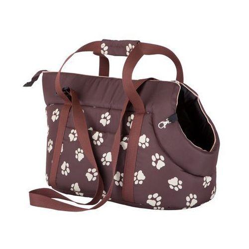 Hobbydog Torba - brązowa w łapki - rozmiar 1