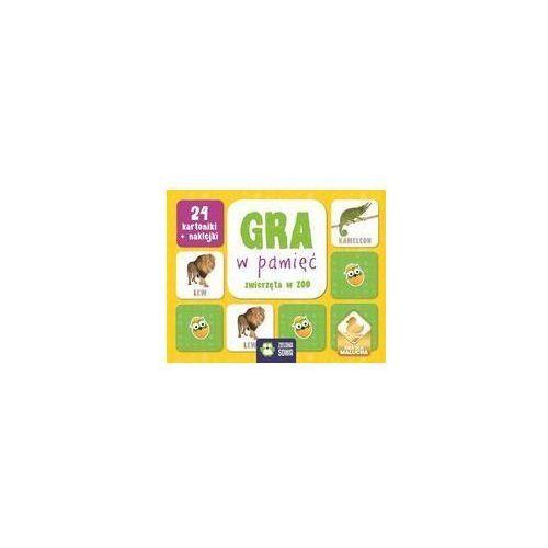 Zielona sowa Rosnę i poznaję gra w pamięć zwierzęta w zoo (5901761118759)