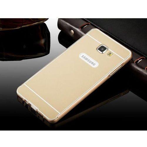 Obudowa Bumper Metal Samsung Galaxy A3 2016 Złoty - Złoty