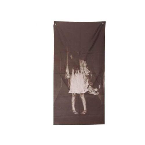 Guirca Dekoracja na drzwi na halloween - 75 x 160 cm - 1 szt.