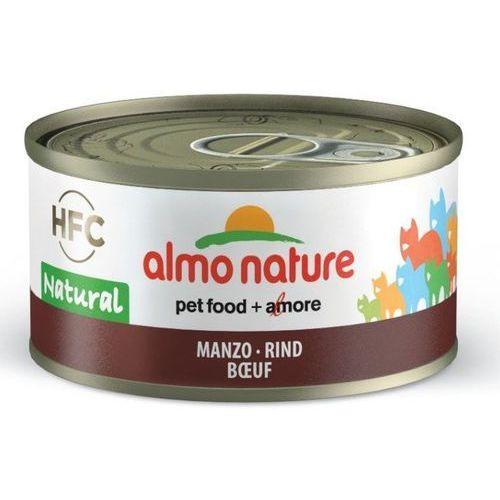 Almo nature hfc natural wołowina 6x70g