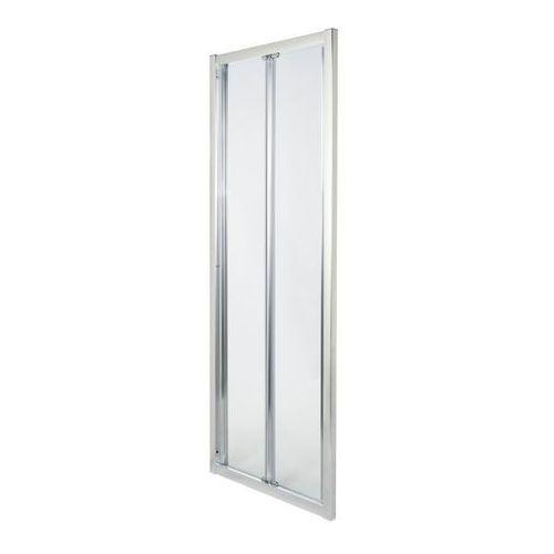Cooke&lewis Drzwi prysznicowe składane onega 80 cm chrom/transparentne (3663602944386)
