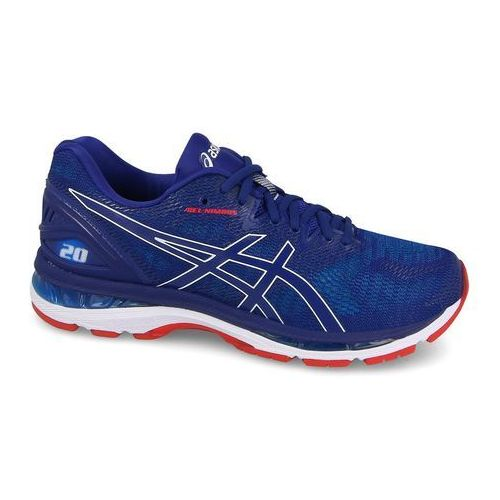 Asics gel-nimbus 20 buty do biegania mężczyźni niebieski us 8,5   eu 42 2018 szosowe buty do biegania