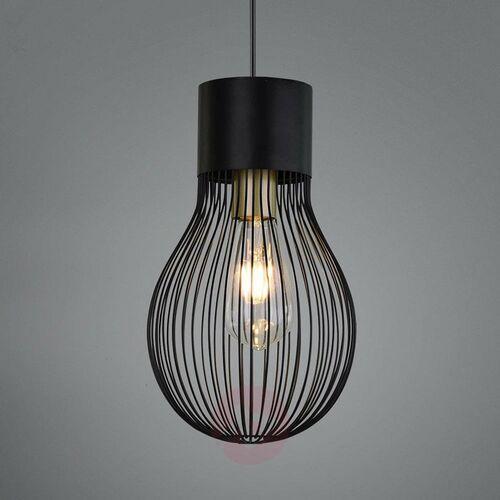 Lampa Wisząca Reality DAVE Czarny, 1-punktowy - Vintage - Obszar wewnętrzny - DAVE - Czas dostawy: od 3-6 dni roboczych (4017807413274)
