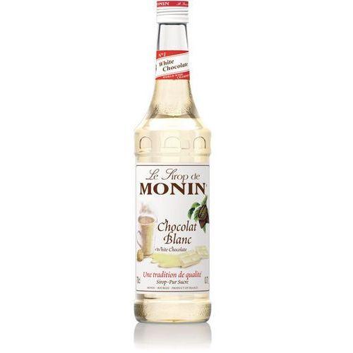 Syrop BIAŁA CZEKOLADA Chocolate White Monin 700ml - produkt z kategorii- Napoje, wody, soki