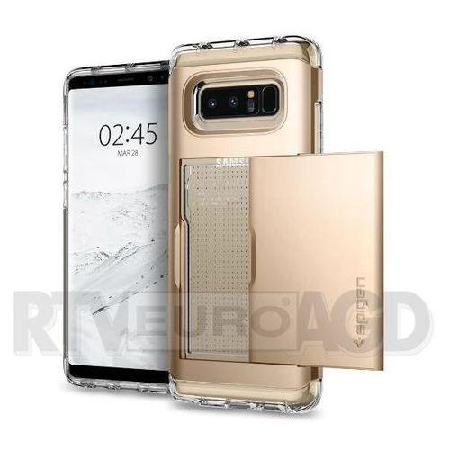 Spigen Crystal Wallet 587CS21847 Samsung Galaxy Note8 (champagne gold) (8809522197630)