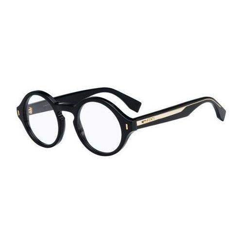 Okulary korekcyjne  ff 0162 color block vjg marki Fendi