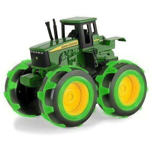 Tomy  john deere traktor monster święcące opony 37792