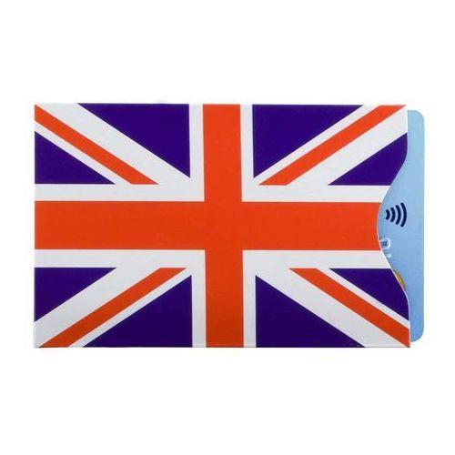 ✅ Etui Antykradzieżowe Karty Zbliżeniowe RFID Wkładka Portfela Koruma - Etui antykradzieżowe na karty zbliżeniowe - Union Jack (5903111394646)