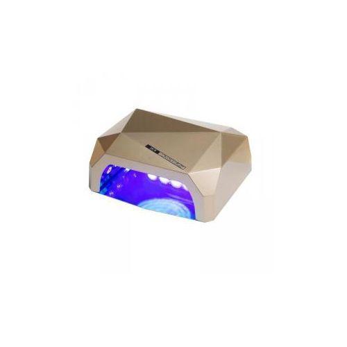 Lampa LED 36W CFL DIAMOND do paznokci BS-557 złota
