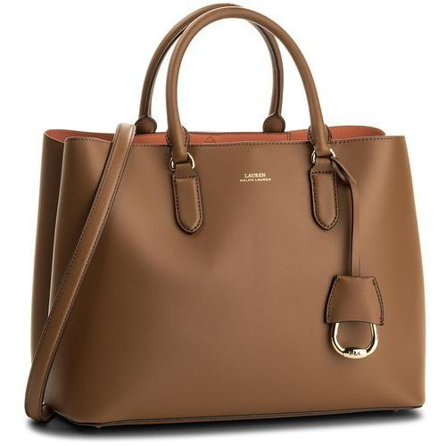 Lauren ralph lauren Torebka - dryden 431697680002 field brown/orange