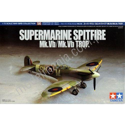 Myśliwiec Supermarine Spitfire Mk.Vb Trop Tamiya 60756, 5_499363