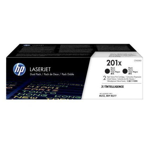 Dwupak tonerów czarnych 201X do HP Color LaserJet M252 M277 M274 2x2,8k