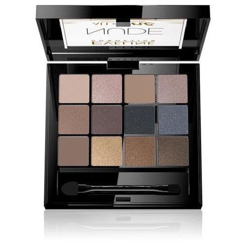 Eveline all in one eyeshadow palette, 12 g. cienie do powiek cień, nude - eveline