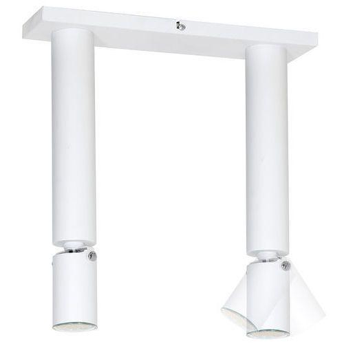 Aldex Lampa oprawa sufitowa plafon slim 2x35w gu10 biała 727h (5904798630904)