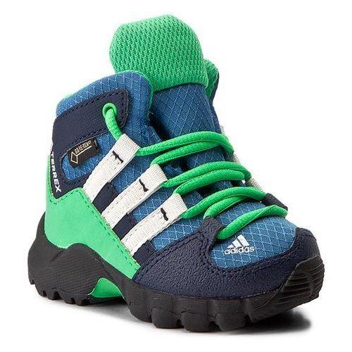 Śniegowce adidas - Terrex Mid Gtx I GORE-TEX S76931 Corblu/Cwhite/Enegrn, kolor wielokolorowy