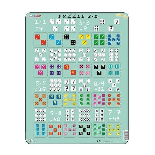 Puzzle MAXI - Násobení s kostkami/24 dílků neuveden