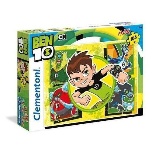 104 elementy MAXI Super Kolor Ben 10