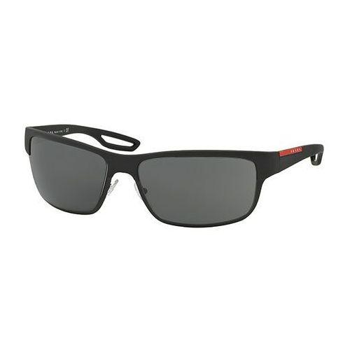 Okulary Słoneczne Prada Linea Rossa PS50QS LJ SILVER DG01A1