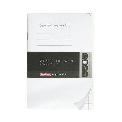 Herlitz Wkład a6/2x40 kartek do notatników my.book flex w kratkę (4008110493756)
