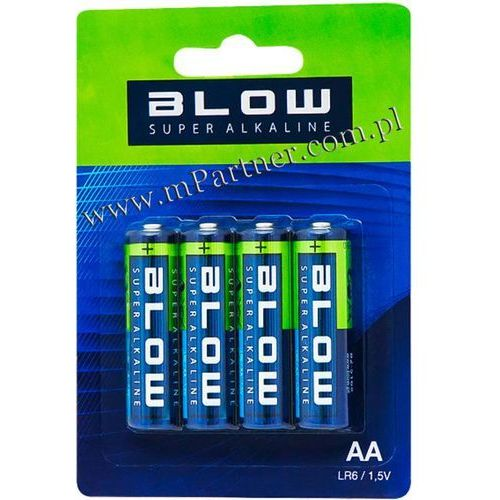 Blow 4x bateria super alkaline aa lr6 (82-516)