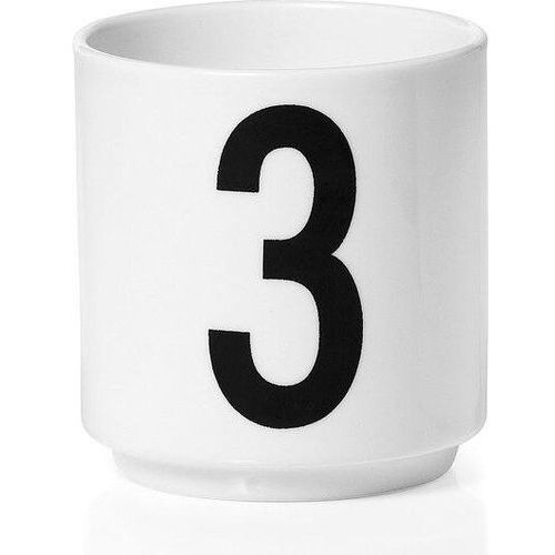 Design letters Filiżanki do espresso aj cyfra 3
