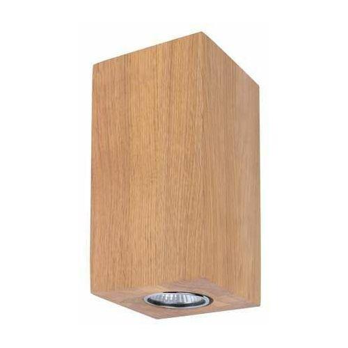 Spot light wooddream wall 2571274 kinkiet lampa ścienna 1x5w gu10 drewno (5901602374610)