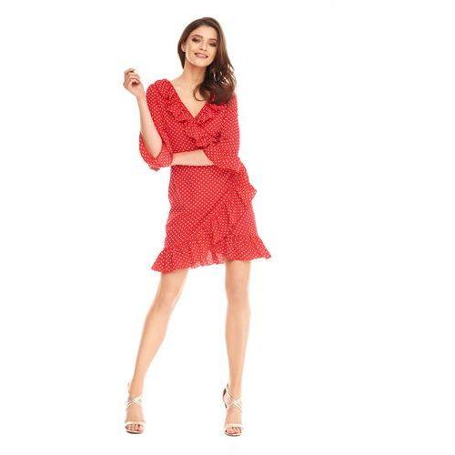 Sukienka margot w kolorze czerwonym, Sugarfree
