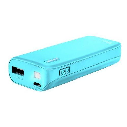Trust Powerbank 4400 Primo neonowy niebieski