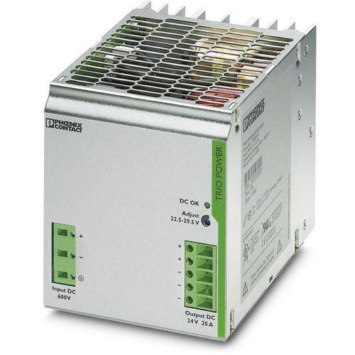 Zasilacz na szynę DIN Phoenix Contact TRIO-PS/600DC/24DC/20 24 V/DC 20 A 480 W 1 x (4046356556163)