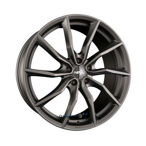nb1 matt gunmetal einteilig 8.50 x 18 et 30 marki Nb wheels