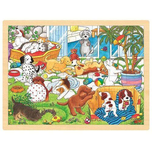 Goki Puzzle, szkoła szczeniąt, 48 el. (4013594578936)