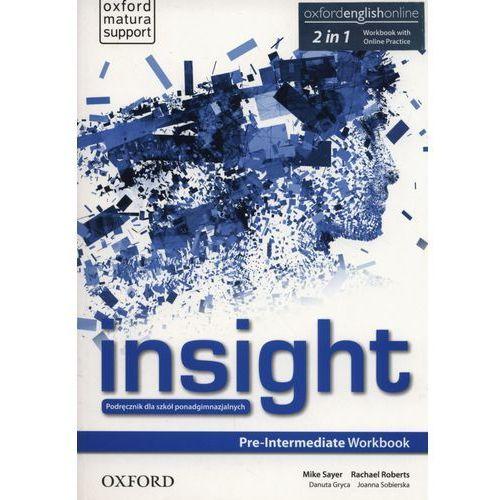 Insight Pre-Intermediate. Ćwiczenia + Online Practice (2015)