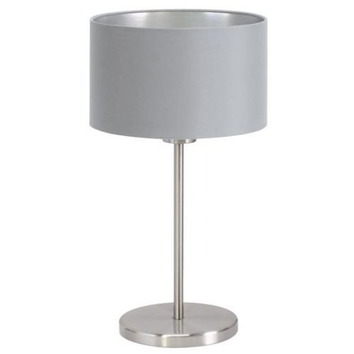 lampa stołowa MASERLO szara - 23 cm, EGLO 31628