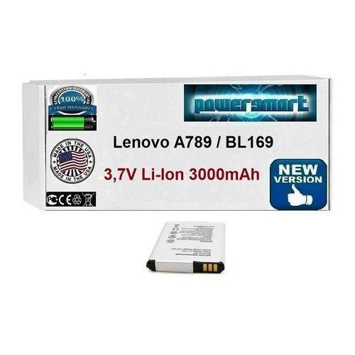 BATERIA AKUMULATOR Lenovo A789 BL169 3000mAh 3,7V
