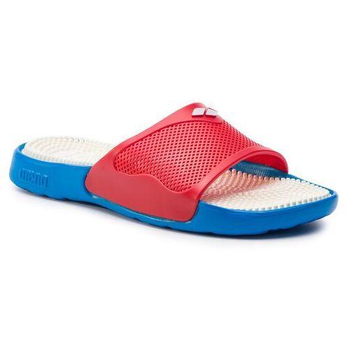 Klapki ARENA - Marco 80635 841 Turquoise/Red/White, kolor czerwony