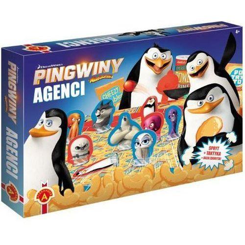 Gra - agenci. pingwiny z madagaskaru. alex marki Alexander
