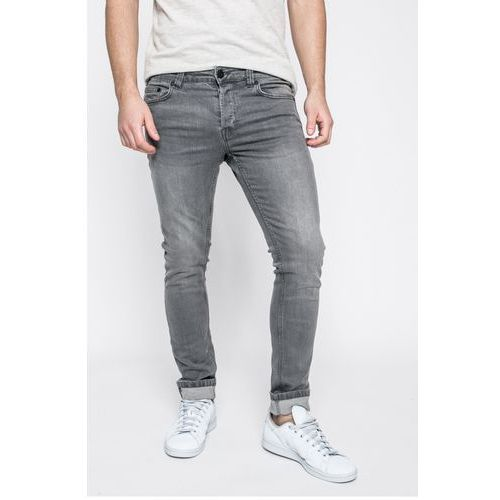 Only & Sons - Jeansy Loom med grey, jeans