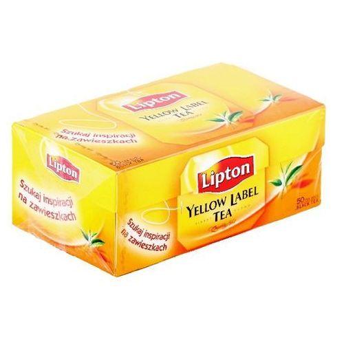 LIPTON 50x2g Yellow Label Herbata ekspresowa