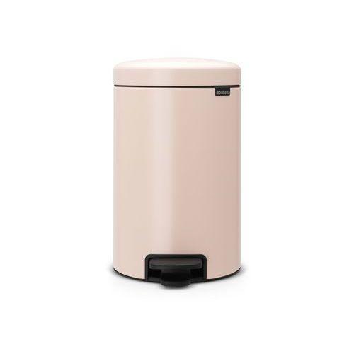 Brabantia - Kosz NewIcon - 12 l - plastikowe wiadro i wolnoopadająca pokrywa - różowy - różowy