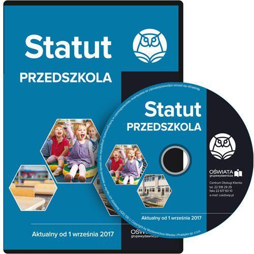 Statut przedszkola Aktualny od 1 września 2017 (2017)