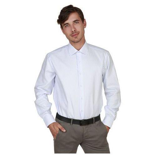Koszula męska TRUSSARDI - 32C03RINT-92, 32C03RINT_07_BCO-AZZ-42