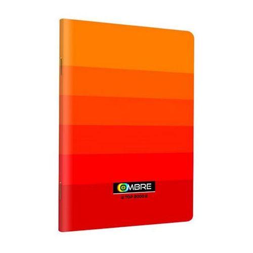 Dystrybucja melior Zeszyt a5 60k top ombre kratka pomarańczowy x1