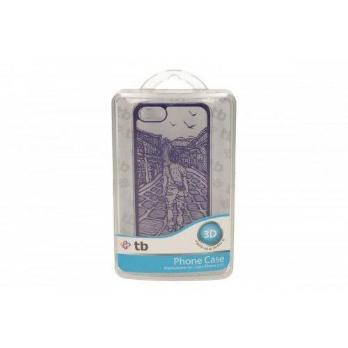 TB Etui Iphone 5/5S chłopiec fiolet