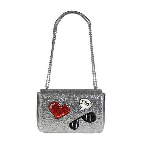 Torebka damska jc4150pp15ll srebrna marki Love moschino